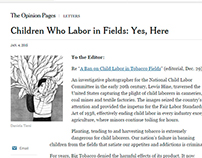 NYT - The Opinion Pages | Letter
