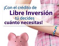 Campaña Libre Inversión