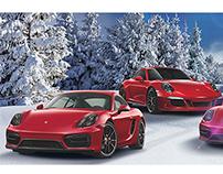Porsche. Navidad.