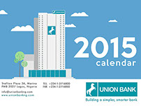 Union Bank Nigeria. 2015 Calendar