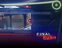 Final Rush | UI Design & Development