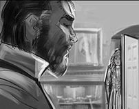 Showtime's Penny Dreadful Storyboards
