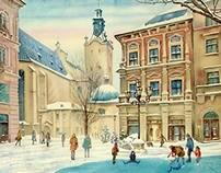 Winter in Lviv