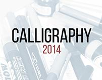 Calligraphy set 2014