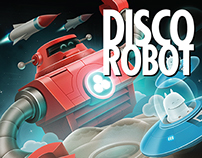 Capa de Disco - DJ Gustavo Ruas - Disco Robot