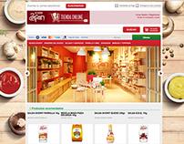 Zafran E-comerce UI