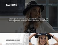 Faustine - Webdesign