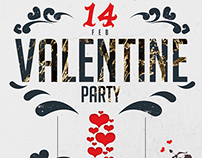 Valentine PArty Flyer