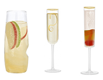 champagne cocktails illustration