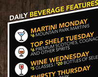 Mountain Park Lodges - Beverages Promotion