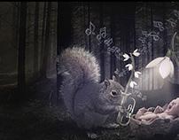 snowdrop music...