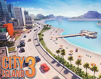 Isometric game graphics: City Island 3
