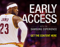 Samsung Experience NBA Banner