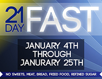 21 Day Fast Project for Radiant Life Church
