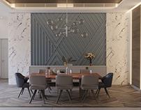 Modern Dining Area - Kuwait
