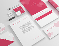 Сorporate identity for wedding and family photographer