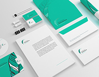 Corporate identity for the copywriter