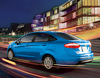 Creative Retouching - Ford Fusion/Fiesta
