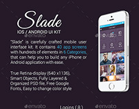 Slade iOS / Android UI Kit