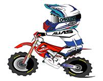 Motocross Avatars