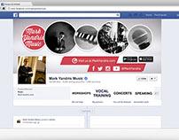 Mark Yandris Music Facebook Rebranding