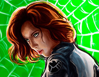 Black Widow - Speedpaint Fanart
