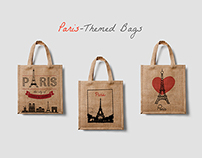 Paris Themed Bags