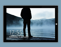 Surface Pro 3 Mockup