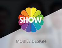 SHOW TV - Mobile Design