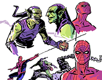 Spider-Man Character Designs