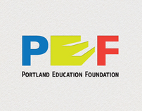 Portland Education Foundation Logo Design