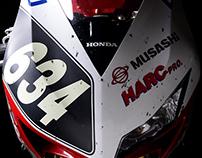 HondaCBR1000RR (MuSASHi RT HARC PRO 2013 SUZUKA 8HOURS)