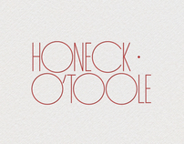 Honeck O'Toole Accountants Logo Concept