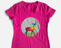 Collection of Ladies T-shirt