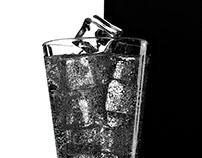 Sparkle water, gin tonic, splashes