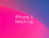 Iphone X Vector Mock Up - Free Download