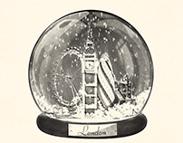 London Snow Globe for GLP