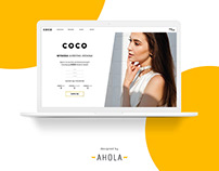 COCO landing page