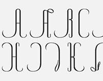 Re-type of Cisnes font by J. Trochut Blanchard.