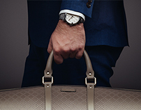 Bright Diamante Duffle + G-Chrono Watch