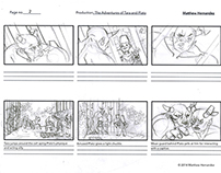 The Adventures of Tara and Plato Storyboards
