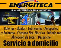 Afiche para Energiteca Coexito