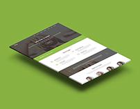 Dago - One Page Corporate Template