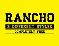 RANCHO - Free Typeface