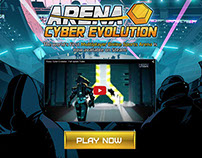 Arena: Cyber Evolution UI/Promo Art