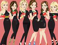 Real House Wives Facebook game art