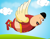 Flying Fatty Android App - Game