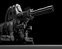 Mortar Canon : Concept Art
