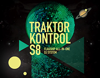 Traktor Control Launch Poster