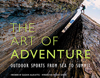 The Art of Adventure: Photography Book Layout